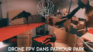 DRONE FPV dans PARKOUR PARK / WCA 2021 : PARKOUR - HIPHOP - CIRQUE