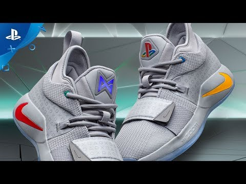 cc7a87977e97 Nike PG 2.5 x PlayStation Colorway