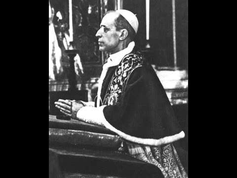 Pater Noster by Pope Pius XII