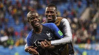 Aksi Lucu N'Golo Kante saat Pesta Perayaan Piala Dunia 2018