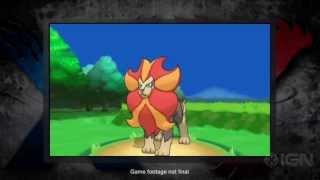 Pyroar  - (Pokémon) - Pokemon X and Pokemon Y Pyroar Reveal Trailer!