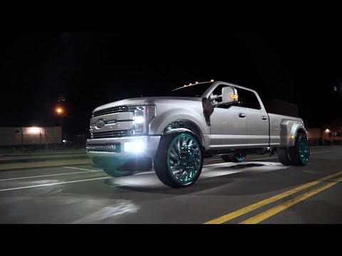 Specialty Forged Wheels   Cody Hill's F350 Dually on D022 28s
