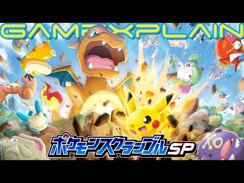 Pokémon Rumble Rush Coming to iOS & Android - Out Now in Australia!