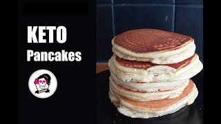 keto pancakes with almond flour