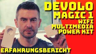 devolo Magic 1 WIFI Multimedia Power kit - Einrichtung & Erfahrungsbericht - Deutsch