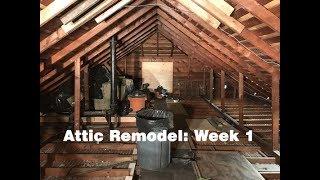 Attic Transformation - Week 1