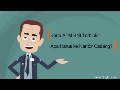 Kartu ATM BNI Terblokir, Apa Harus ke Kantor Cabang?