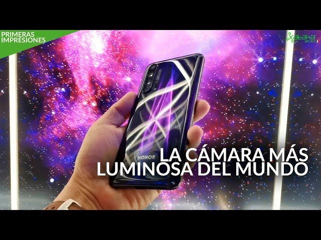 Honor 20 Pro, PRIMERAS IMPRESIONES: ¿La cámara más luminosa llegará a México?