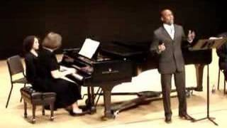 Anthony McGlaun, tenor - AfAm Art Song Alliance Conference