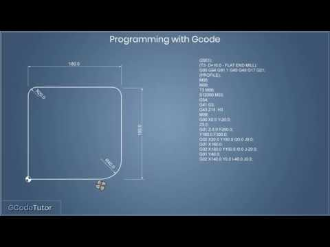 Basic G-Code programming for CNC routers - YouTube