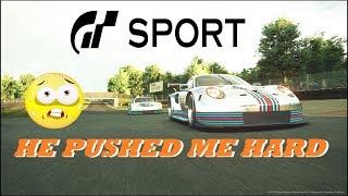 GT Sport He Pushed Me Hard - Brands Hatch Daily Race GR.3