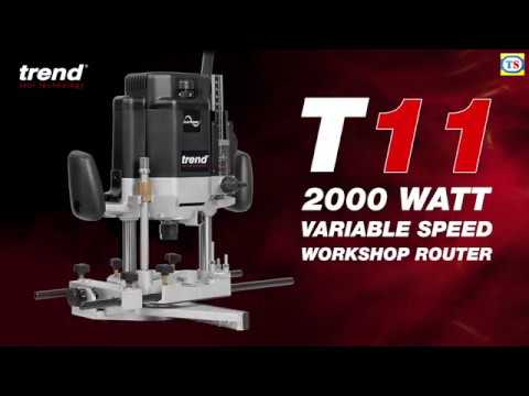 """Trend T11 1/2"""" Variable Speed Router"""