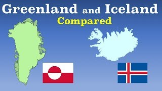 Greenland and Iceland Compared
