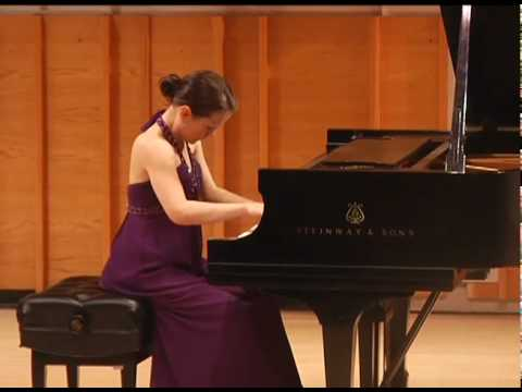 Chopin Ballade No. 3 performed at Merkin Hall, NY, NY.