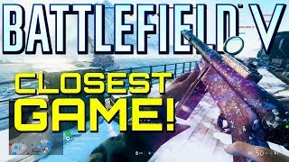 Battlefield 5: Closest Game Ever! (PS4 Pro Multiplayer Gameplay)