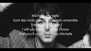 Michelle with lyrics( The Beatles)