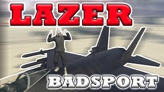 GTA 5 LAZER Kill Montage in Badsport (compilation#74)