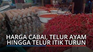 Harga Kebutuhan Pokok di Padang, Senin (22/2/2021), Harga Cabai, Telur Ayam hingga Telur Itik Turun