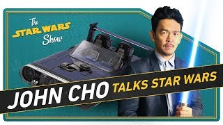 John Cho Talks Fandom and We Look at Han's Speeder from Solo! - Video Youtube