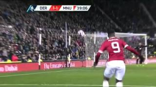 Cuplikan Gol Derby Country Vs Manchester United 13 30012016