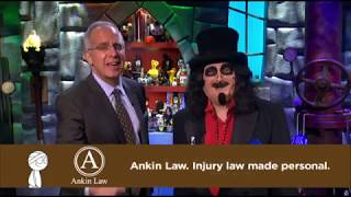 Svengoolie in Ankin Law Work Injury Commercial