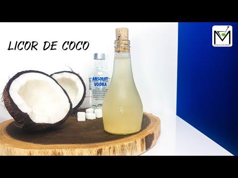 Licor de Coco com vodka