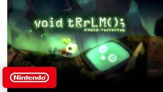 Nintendo Void Terrarium - Release Date Announcement anuncio