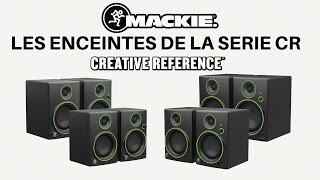 Mackie CR4 (la paire) - Video