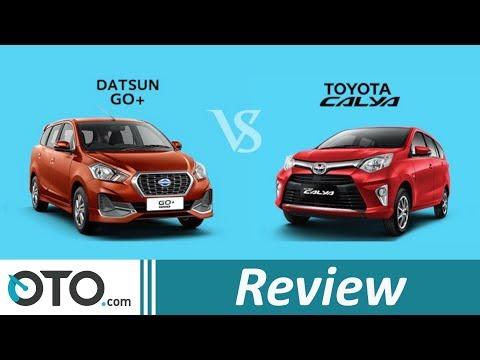 Datsun Go+ Panca vs Toyota Calya | Review | Adu Spesifikasi LCGC-7 penumpang | OTO.com