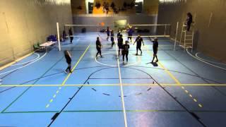 FCVb J2 Liga Master Grup 3 - Vikings Volei Prat Escola Master 3 - 0 CV Viladecans Unilever