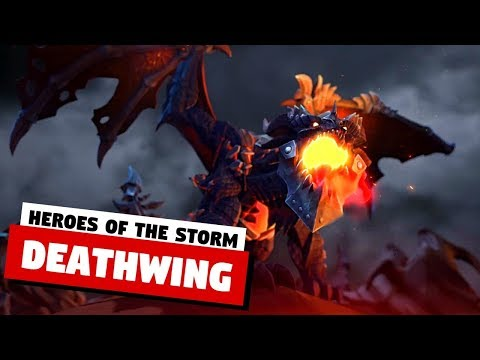Deathwing New Hero in Hots | Reveal Trailer & Gameplay | Heroes of the Storm