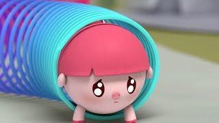 Малышарики - На площадке (16 серия) Развивающие мультики для самых маленьких