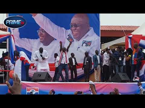 Watch Video: NPP bigwigs danced at Cape Coast delegates conference