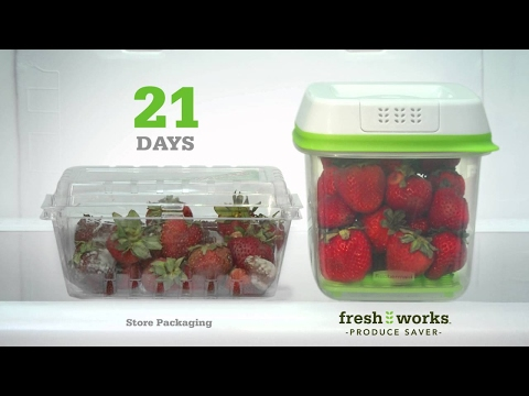 Rubbermaid Fresh Works Part 2 – AS SEEN ON TV