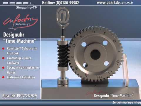 "infactory Designuhr ""Time-Machine"""