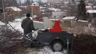 Дереводробилка аренда - видео 2