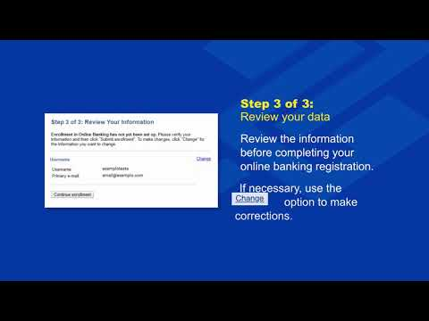 How to Enroll in Online Banking