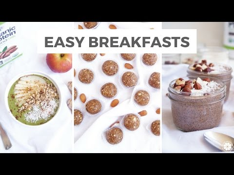 Video 3 Healthy Breakfast Recipes For Fall | Dairy-Free & Gluten-Free | Healthy Grocery Girl