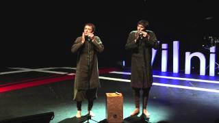Jew's Harp, Listen and You Will Hear It: Valentinas & Viaceslavas