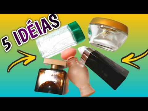 Decorar frascos de perfumes