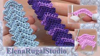 Crochet Simple Cord Урок 1 Вязаные шнуры