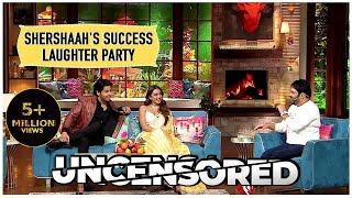Laughter Night With The Star Cast Of Shershaah Uncensored   The Kapil Sharma Show   Sidharth, Kiara