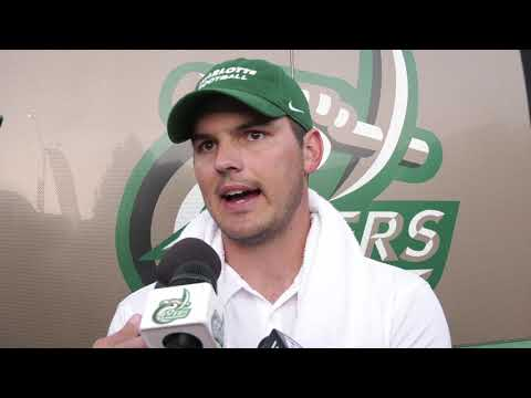 Charlotte 49ers Football vs. App State Postgame Interview