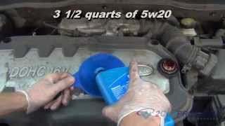 Oil Change & Filter Replacement Kia Rio
