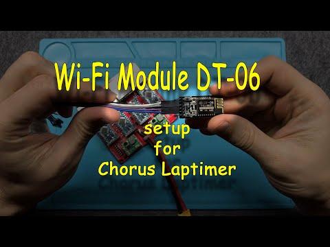 Wi Fi module setup for Chorus Laptimer