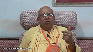 Why do bad things happen to good people? by HH Vedavyasa Priya Swami