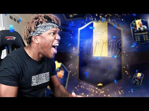 KSI Opens FIFA 19 TOTY Packs!!