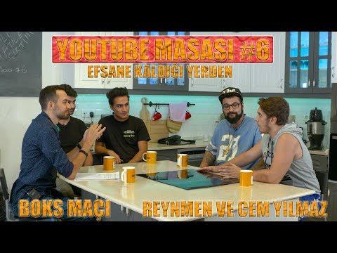 YOUTUBE MASASI #6 | EFSANE KALDIĞI YERDEN! | BOKS MAÇI | REYNMEN CEM YILMAZ | PANTENE ALTIN KELEBEK