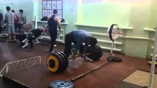 Ануар Улан - тяга 310 кг (83 кг)