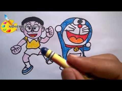 Vẽ Nobita Và Doremonhow To Draw Nobita And Doraemon Vnmylifecom